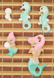 Turq Pink Deluxe Mermaid Set
