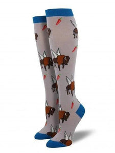 Buffalo Wings Knee Socks - Cats Like Us