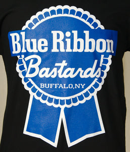 Blue Ribbon Bastards Logo Mens by Blue Ribbon Bastards : Cats Like Us