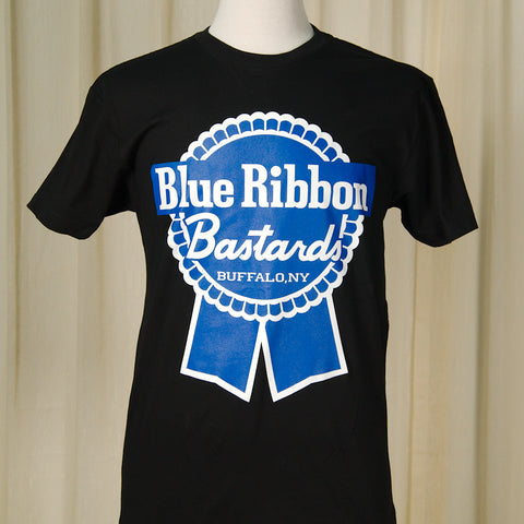 Blue Ribbon Bastards Logo Mens - Cats Like Us