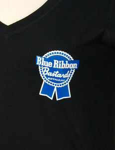 Blue Ribbon Bastards Sm Logo T by Blue Ribbon Bastards : Cats Like Us