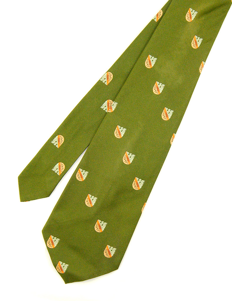 70s does 1940s Eagle Crest Tie by Cats Like Us - Cats Like Us