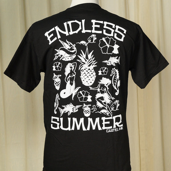 Endless Summer Pineapple T by Cartel Ink : Cats Like Us