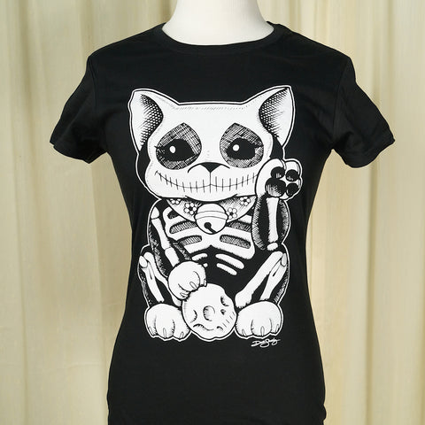 Lucky Muerte Kitty T Shirt