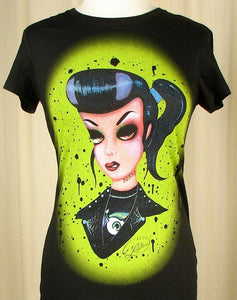 Psycho Punk Rock Doll T Shirt by Cartel Ink : Cats Like Us