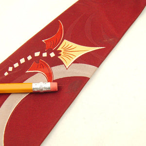 1940s Abstract Dragon Tie
