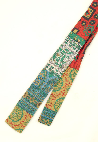 1950s Aztec Colorful Tie by Cats Like Us - Cats Like Us