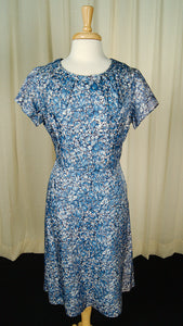 1950s Blue Floral Bow Dress by Vintage Collection by Cats Like Us : Cats Like Us