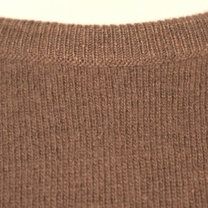 1950s Brown Cashmere Sweater