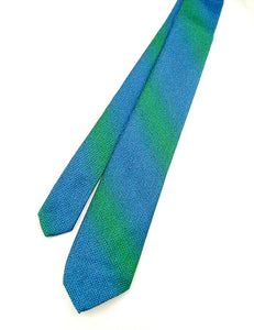 1950s Electric Blue & Green Tie by Cats Like Us - Cats Like Us