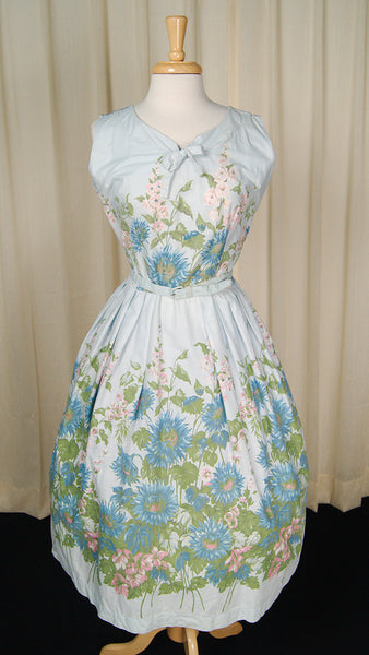 1950s Garden Swing Dress by Cats Like Us - Cats Like Us
