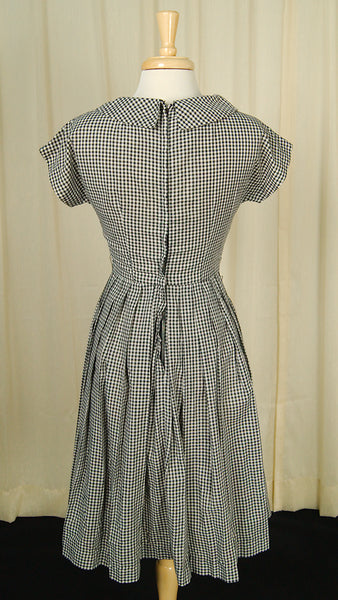 1950s Gingham Swing Dress by Cats Like Us : Cats Like Us