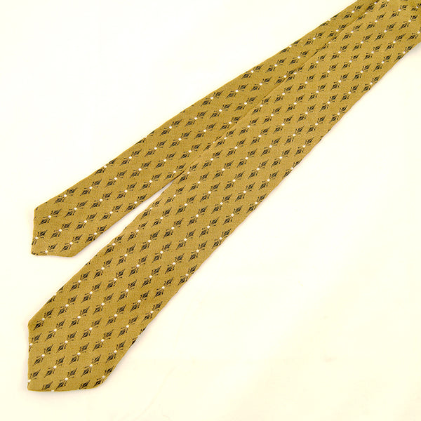 1950s Gold & Navy Tie by Cats Like Us - Cats Like Us