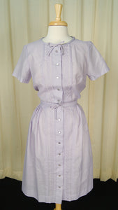 1950s Lavender Bow Dress by Cats Like Us : Cats Like Us