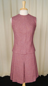 1950s Lavender Dress Suit