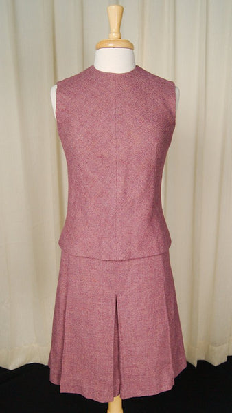 1950s Lavender Dress Suit - Cats Like Us