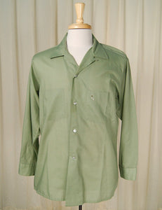 1950s LS Green Arrow Shirt