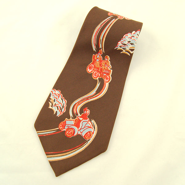 1950s Model T Car Ride Tie by Vintage Collection by Cats Like Us - Cats Like Us