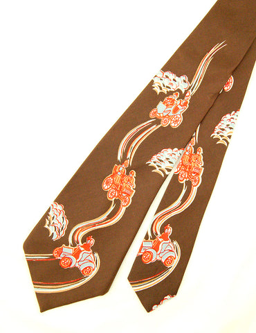 1950s Model T Car Ride Tie by Vintage Collection by Cats Like Us : Cats Like Us