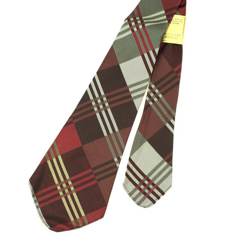1950s Multi Color Argyle Tie