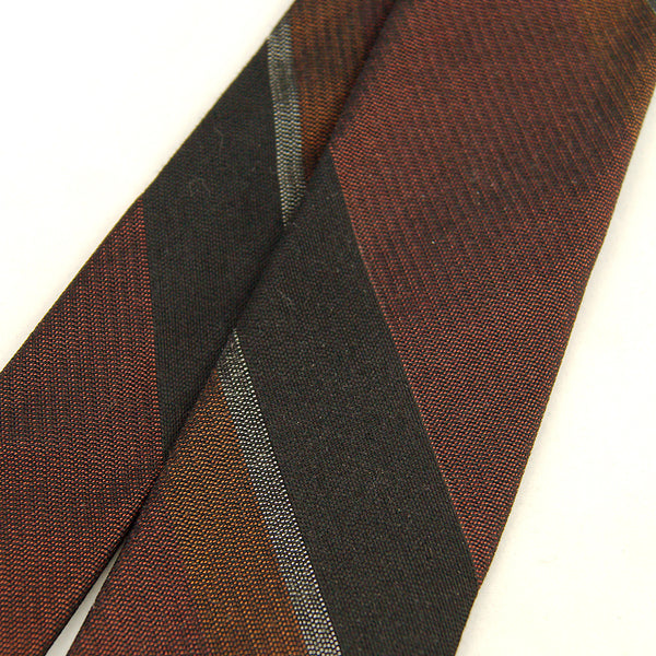 1950s Neutral Stripe Tie