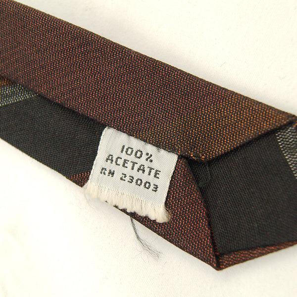 1950s Neutral Stripe Tie by Cats Like Us - Cats Like Us