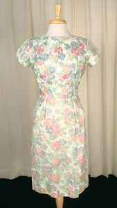 1950s Pastel Sequin Dress - Cats Like Us