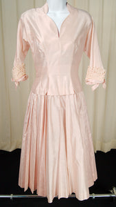 1950s Pink Princess Dress by Cats Like Us - Cats Like Us