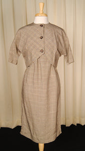 1950s Plaid Dress w Jacket by Cats Like Us - Cats Like Us