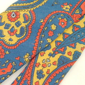 1950s Primary Paisley Tie by Cats Like Us - Cats Like Us