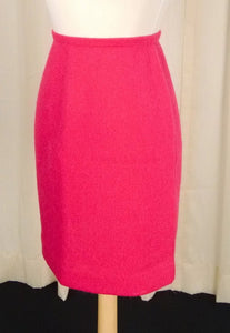 1950s Raspberry Pink Skirt - Cats Like Us