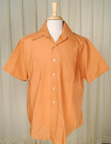 1950s SS Orange Shirt