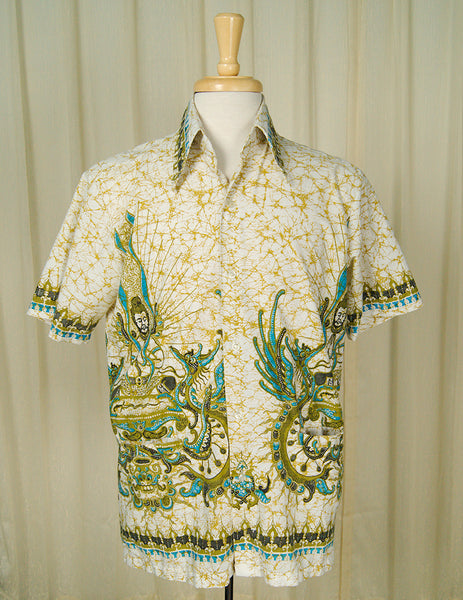 1960s Batek Peace Shirt by Vintage Collection by Cats Like Us : Cats Like Us