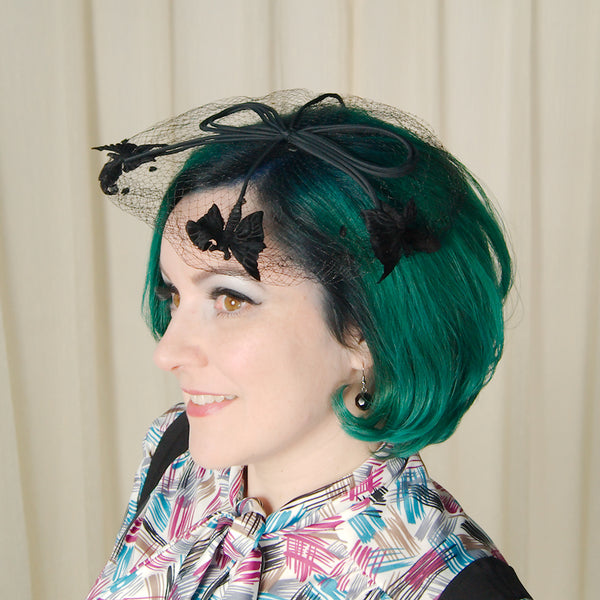 1960s Black Butterfly Whimsy by Cats Like Us - Cats Like Us