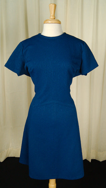 1960s Blue Scooter Dress by Cats Like Us : Cats Like Us