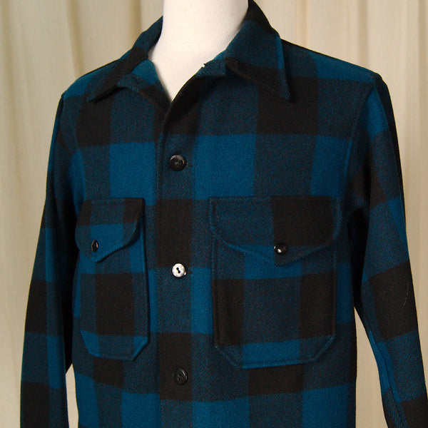 1960s Buffalo Plaid Pendleton by Vintage Collection by Cats Like Us - Cats Like Us