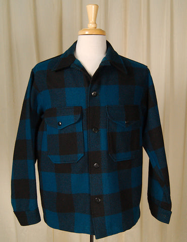 1960s Buffalo Plaid Pendleton by Vintage Collection by Cats Like Us : Cats Like Us