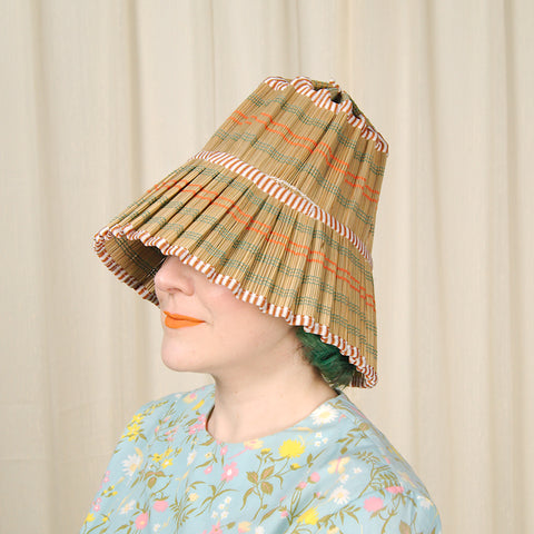 1960s Coolie Straw Hat by Cats Like Us - Cats Like Us