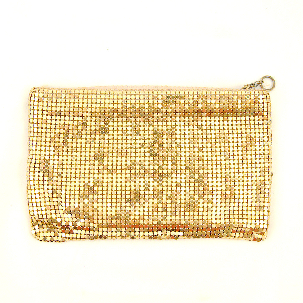1960s Gold Mesh Change Purse by Cats Like Us - Cats Like Us