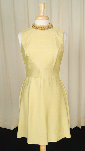 1960s Gold Sequin Dress by Cats Like Us - Cats Like Us