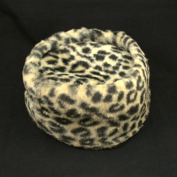 1960s Golden Leopard Pillbox - Cats Like Us