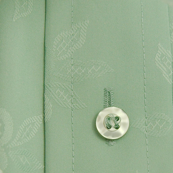 1960s Green Textured Shirt - Cats Like Us
