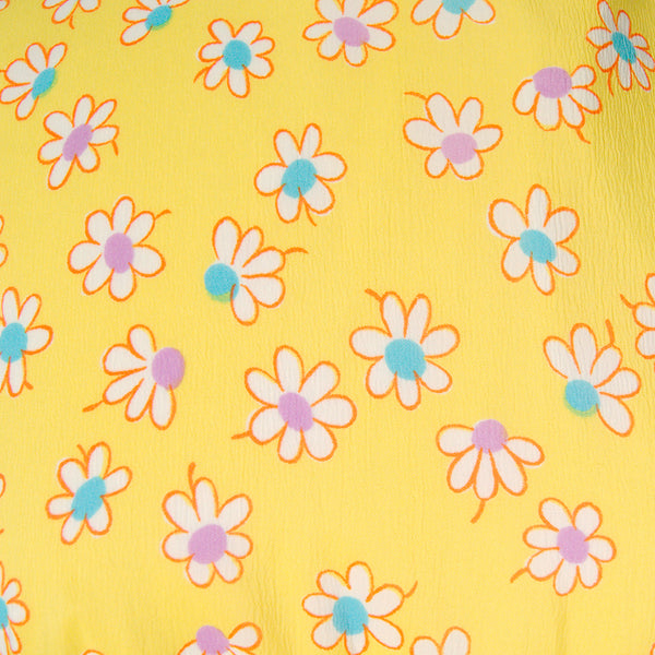 1960s Happy Daisy Shift Dress by Cats Like Us - Cats Like Us
