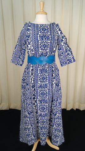 1960s Honolulu Cut Out Dress