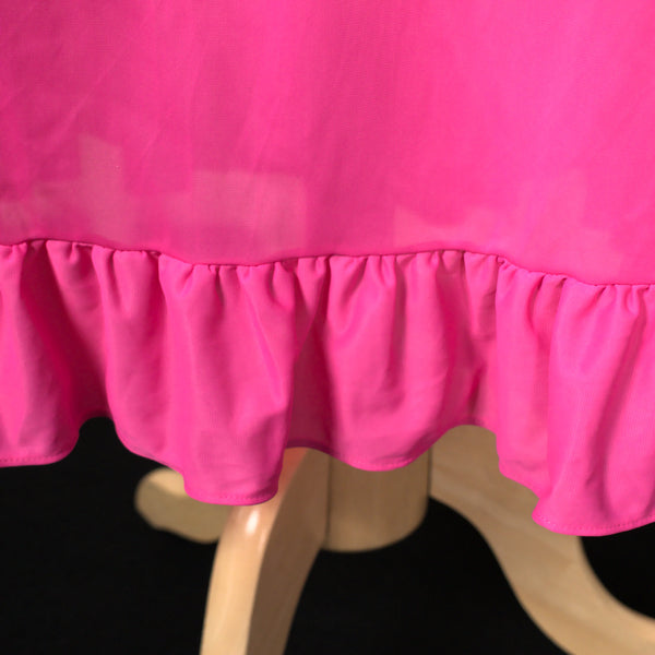 1960s Hot Pink Night Gown