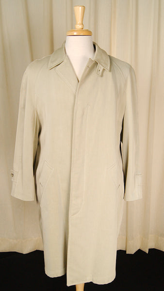 1960s Mohair Lined Trench Coat by Vintage Collection by Cats Like Us : Cats Like Us