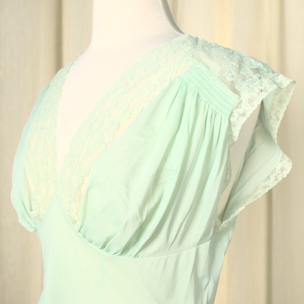 1960s NWT Sexy Mint Night Gown