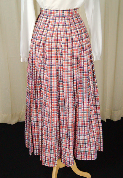 1960s Patriotic Maxi Skirt by Cats Like Us - Cats Like Us