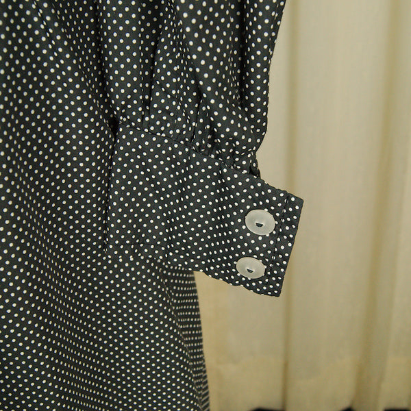 1960s Peter Pan Polka Dot Dress by Vintage Collection by Cats Like Us - Cats Like Us