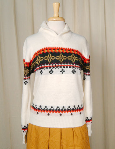 1960s Roll Neck Sweater